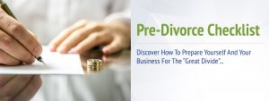 Horizon Ridge Wealth Management Pre-Divorce Checklist